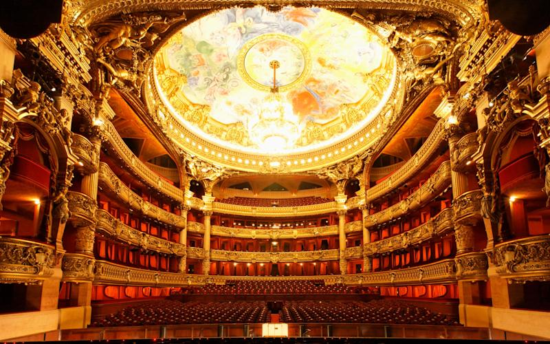 The Opera Garnier in Paris: central to a new biopic on Rudolf Nureyev - getty