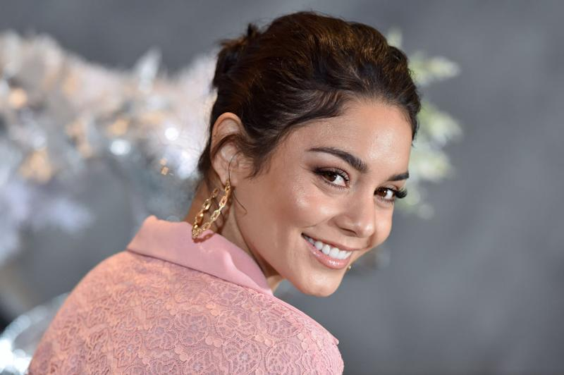 "Vanessa Hudgens, pictured in December 2018, stars in the new Netflix movie ""The Knight Before Christmas."" (Photo: Axelle/Bauer-Griffin/FilmMagic)"