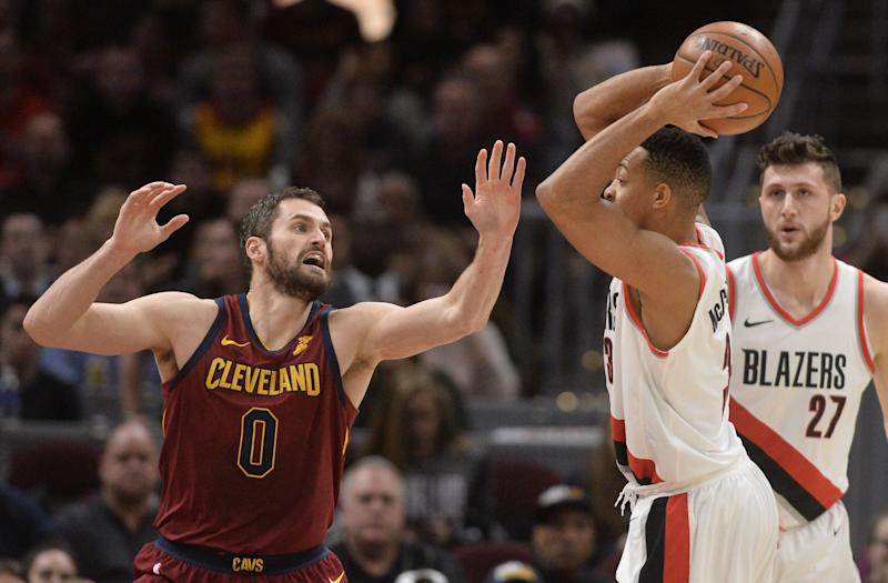 Kevin Love opens up to CJ McCollum on the latest Pull Up podcast