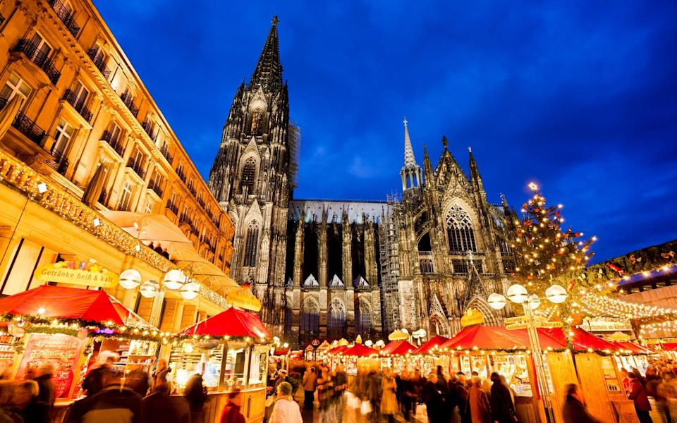 cologne christmas market - Getty