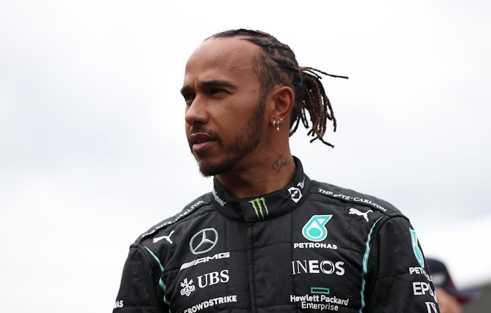 Lewis Hamilton was racially abused after the British Grand Prix (Bradley Collyer/PA) (PA Wire)