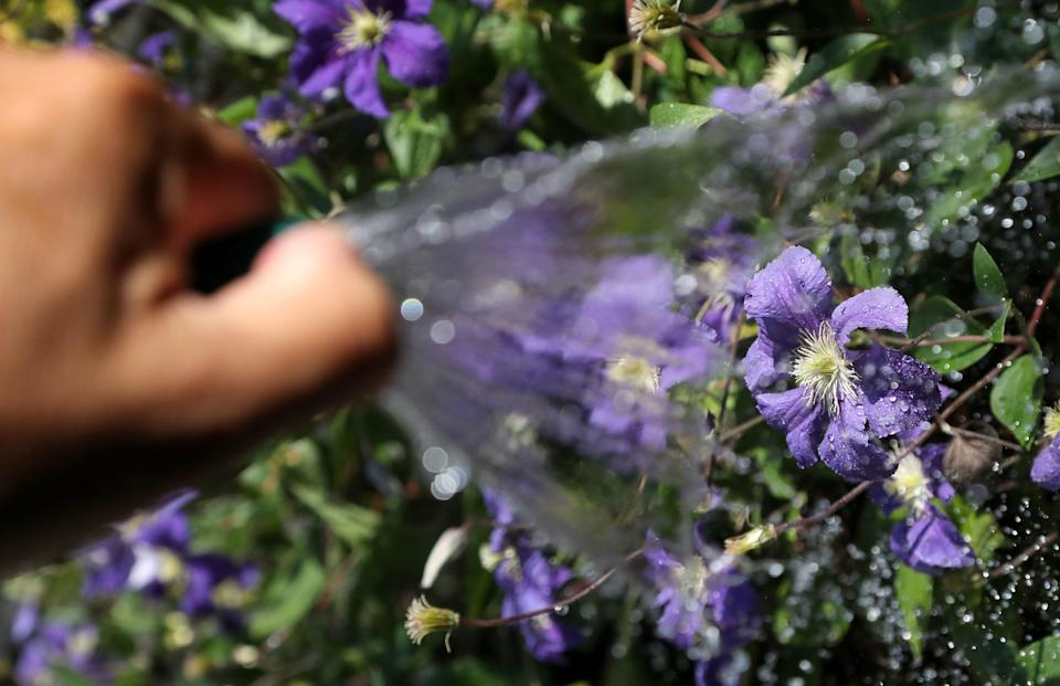 Millions of people in the North West are facing a hosepipe ban due to water shortages (PA)