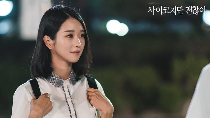 Seo Ye Ji dalam It's Okay to Not Be Okay. (tvN via Soompi)