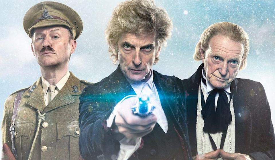 Peter Capaldi confirms he won't return to Doctor Who