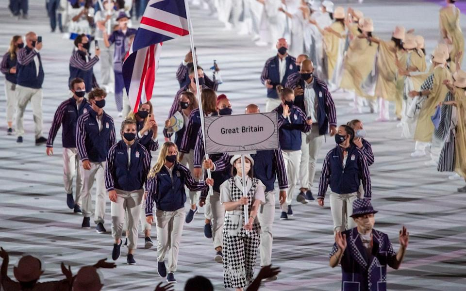 Team GB - Paul Grover for the Telegraph
