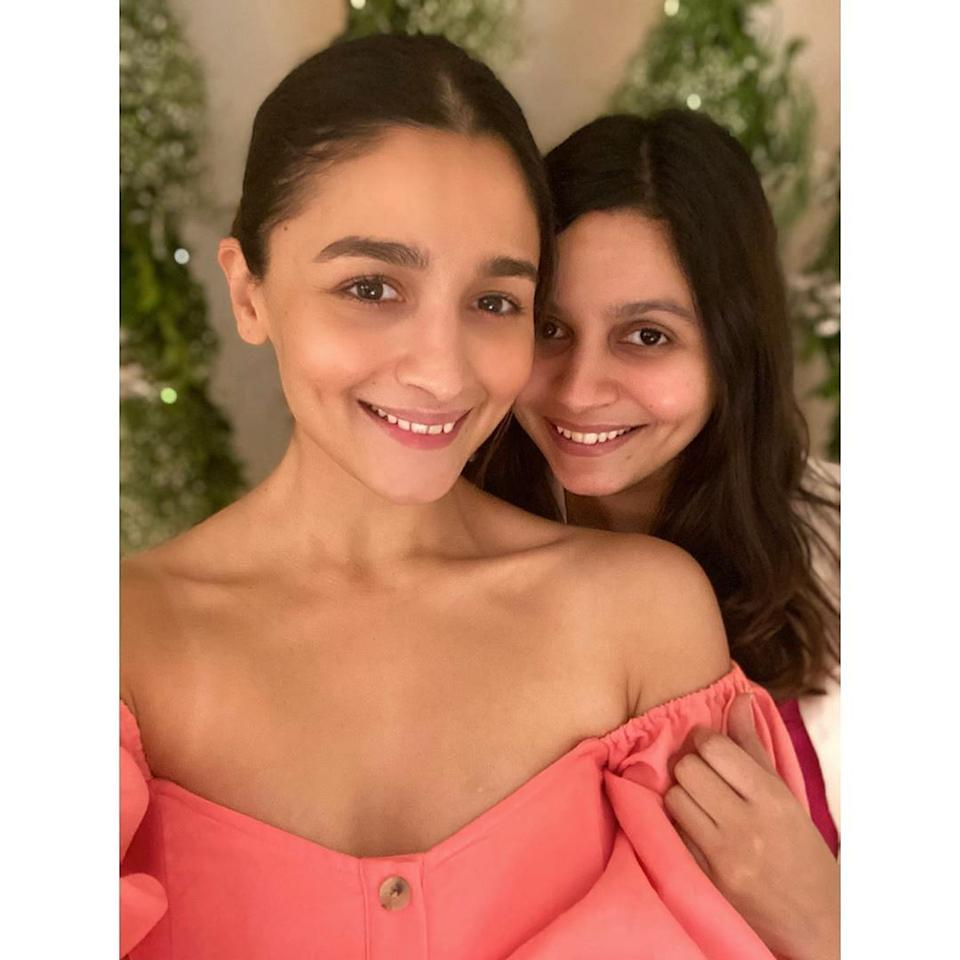 Alia and Shaheen at their mom's birthday party.
