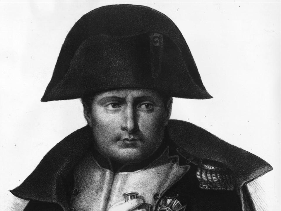 A painting of Bonaparte from around 1810 (Getty Images)