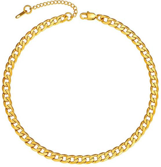 ChainsPro Men Sturdy Cuban Link Chain. (Image via Amazon)
