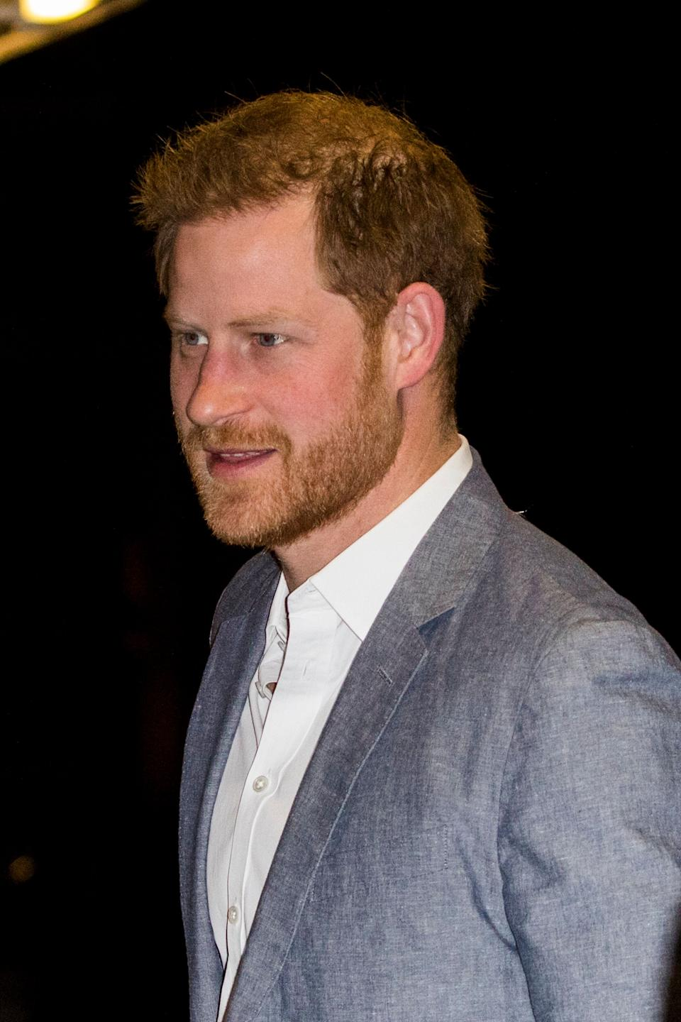 Prince Harry (Photo: Tristan Fewings via Getty Images)