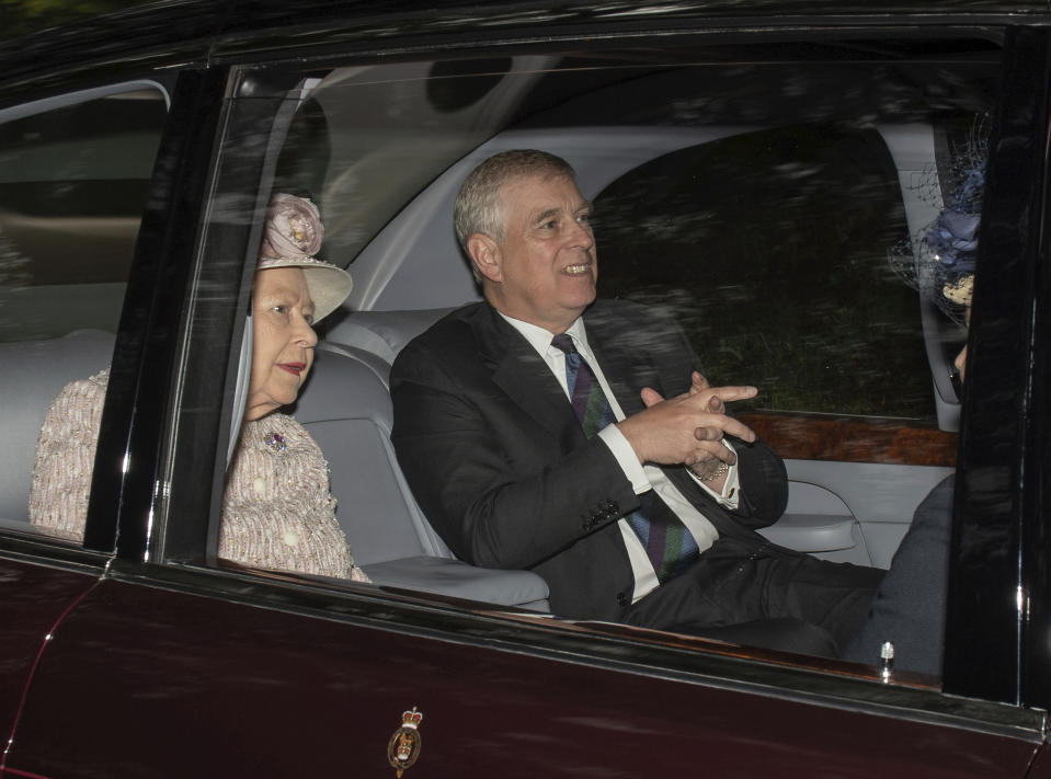 The Queen acted swiftly to withdraw Prince Andrew from public life. (Getty)