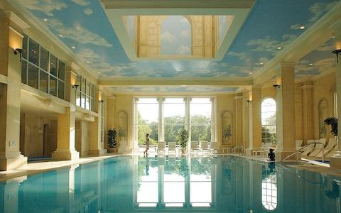 The swimming pool at Chewton Glen