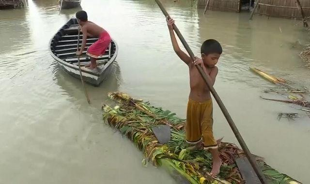 Bangladesh: Millions flee their homes as flooding hits a third of the country