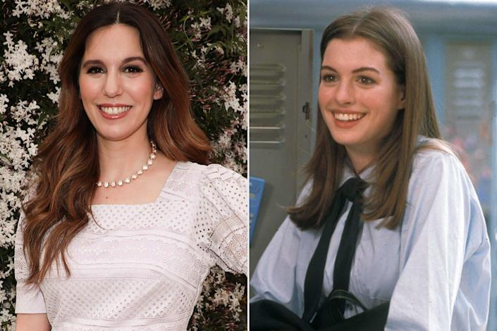 Christy Carlson Romano and Anne Hathaway