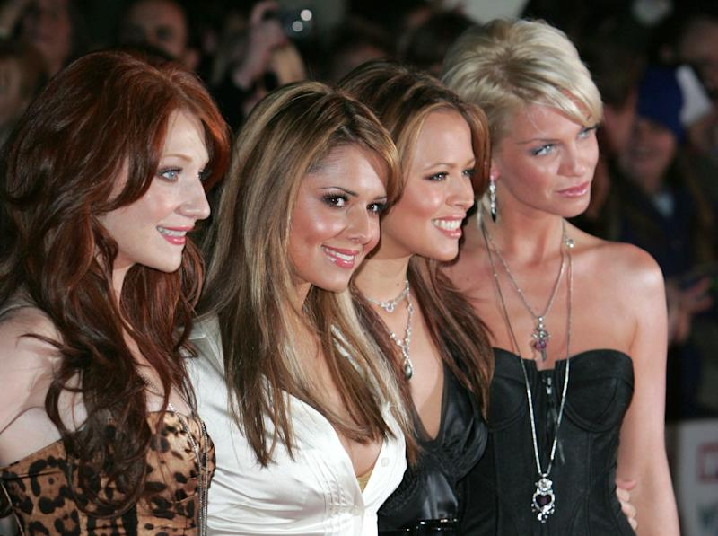 Girls Aloud attend the Pride of Britain Awards 2006 at the London Television Studios.Picture: UK Press