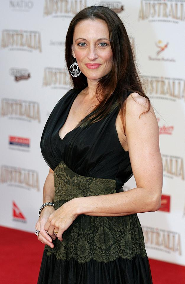 """<a href=""""http://movies.yahoo.com/movie/contributor/1809043288"""">Georgie Parker</a> at the Sydney premiere of <a href=""""http://movies.yahoo.com/movie/1809878217/info"""">Australia</a> - 11/18/2008"""