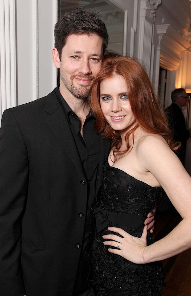 """Julie and Julia"" actress Amy Adams and her fiance Darren Le Gallo welcomed their first addition to the family on May 15 in Los Angeles -- a baby girl called Aviana Olea. Eric Charbonneau/<a href=""http://www.wireimage.com"" target=""new"">WireImage.com</a> - January 10, 2009"