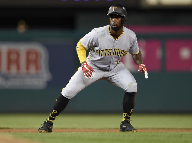 Former National League MVP Andrew McCutchen is on the move to San Francisco. (AP)