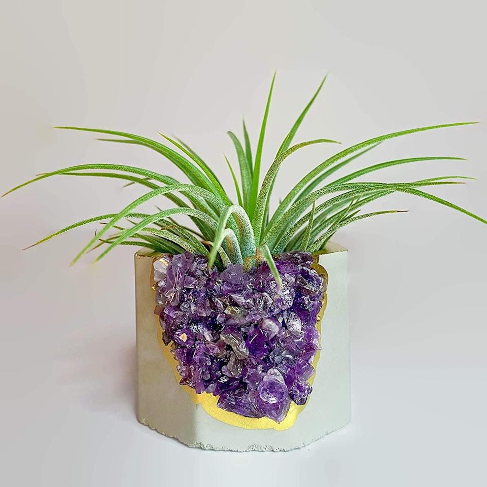 <p>This <span>Geode Planter</span> ($25) will add good vibes to your environment.</p>