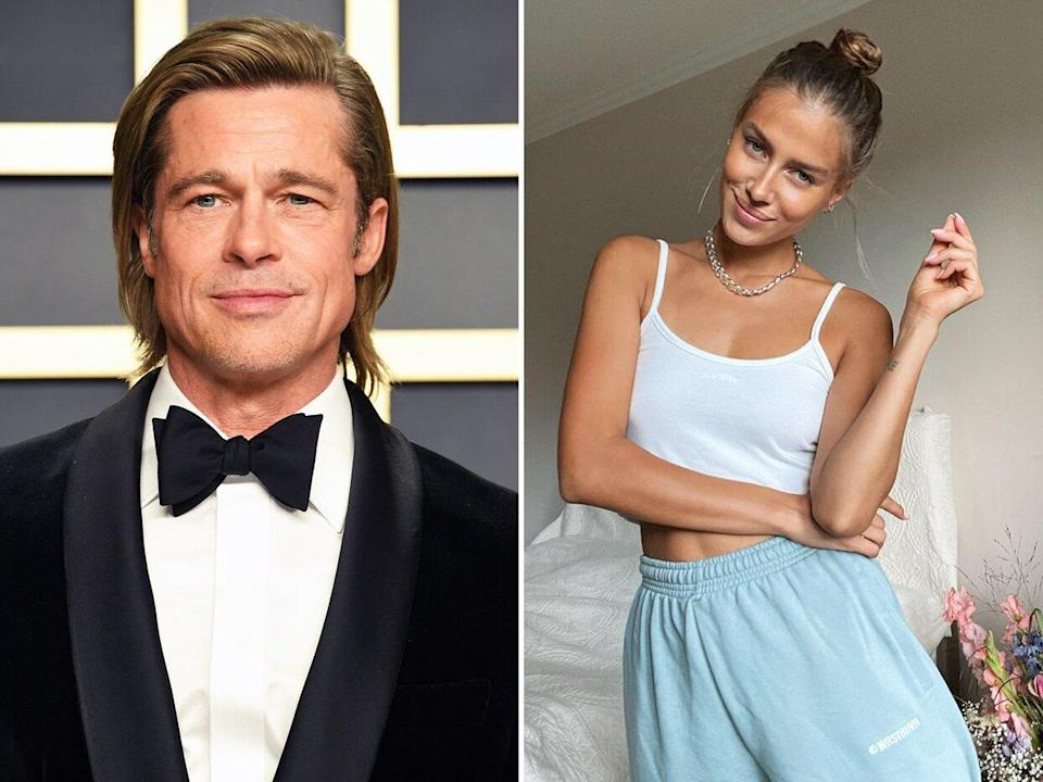Brad Pitt Spotted On Vacation With Rumored Girlfriend Nicole Poturalski