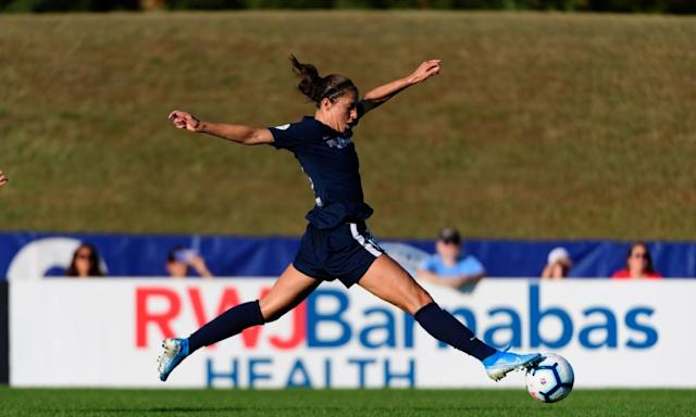 "<span class=""element-image__caption"">South Jersey native and World Cup hero Carli Lloyd remains the biggest draw for Sky Blue FC.</span> <span class=""element-image__credit"">Photograph: Howard Smith/ISI Photos/Getty Images</span>"