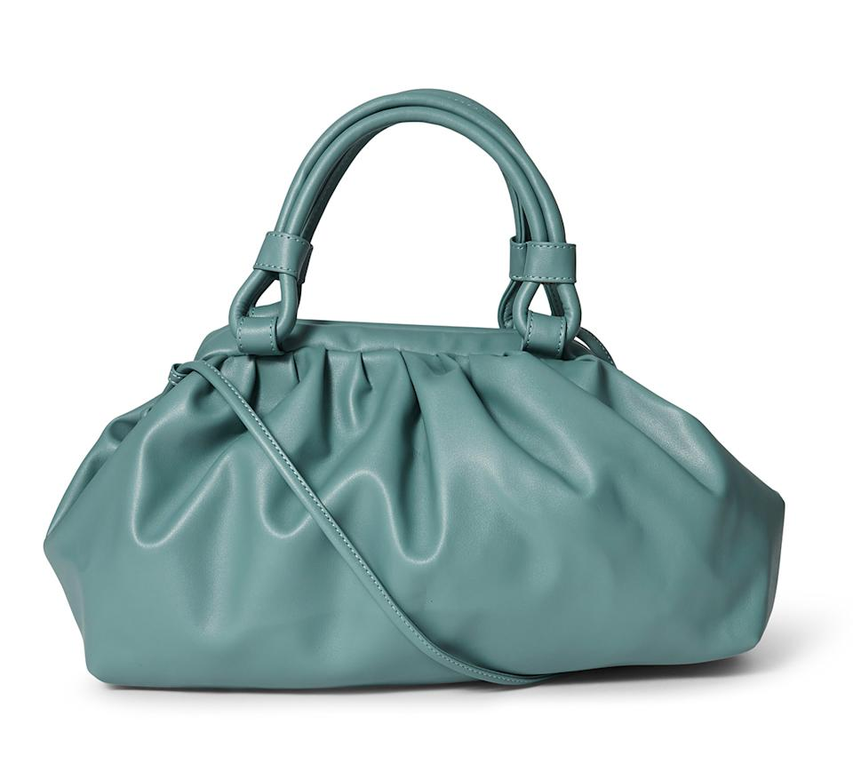 Big W slouch bag in green