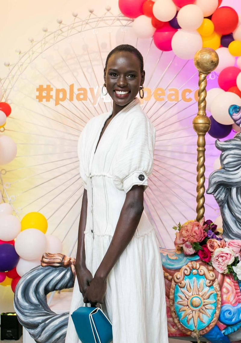 South Sudanese-born Australian model Ajak Deng has praised Victoria's Secret's efforts at making its annual runway show more diverse this year, but says