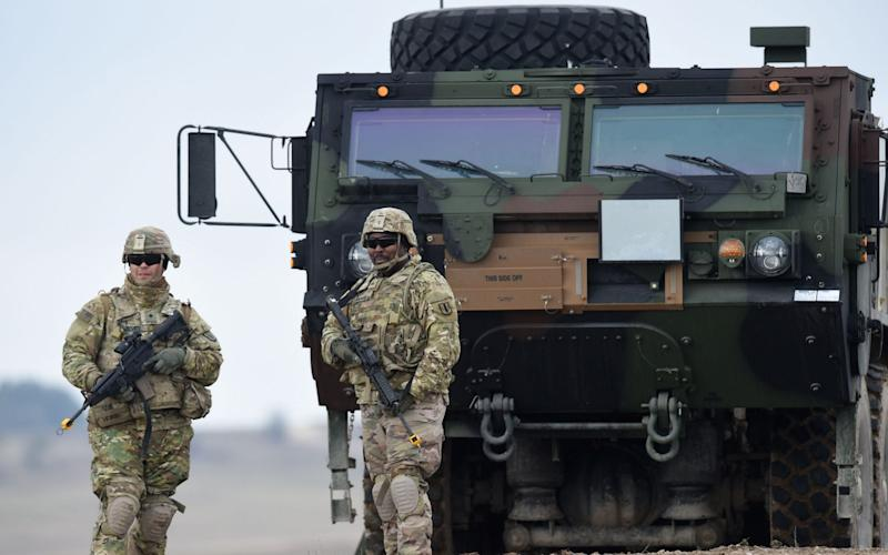 There are currently 52,000 US troops in Germany - GETTY IMAGES