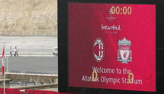 The Ataturk Stadium on the outskirts of Istanbul will host its second Champions League final in 2020. (AFP Photo/MUSTAFA OZER)