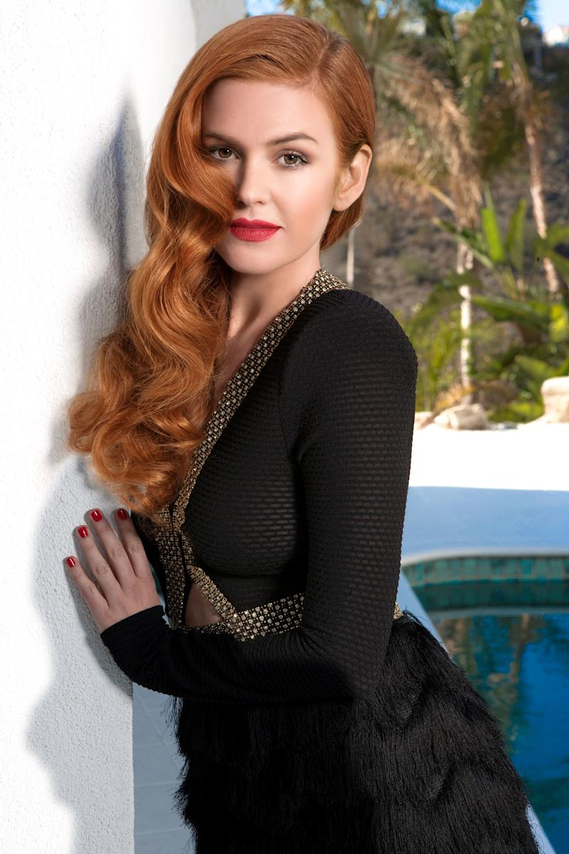 Amy Delucia isla fisher's red hair inspired the funniest prank involving