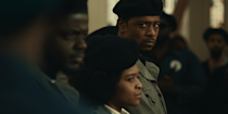 "<p><em>Judas and the Black Messiah </em>is powered by the pair of performances at it's core: William O' Neal (Stanfield) and Fred Hampton (Daniel Kaluuya). Kaluuya has long been getting the praise, and is probably the frontrunner to win in the Best Supporting Actor category. But while Kaluuya's performance as the ""Black Messiah"" of the title is big, flashy, and powerful, Stanfield's performance as the ""Judas"" goes the other way. He brings a quiet, subdued, energy to the film in the exact ways it needs. After flying under the radar for much of the awards season, it was nice to see Stanfield, one of the best up-and-comers in the industry over the last half decade, get his first nomination for a performance that really deserved it. t</p>"