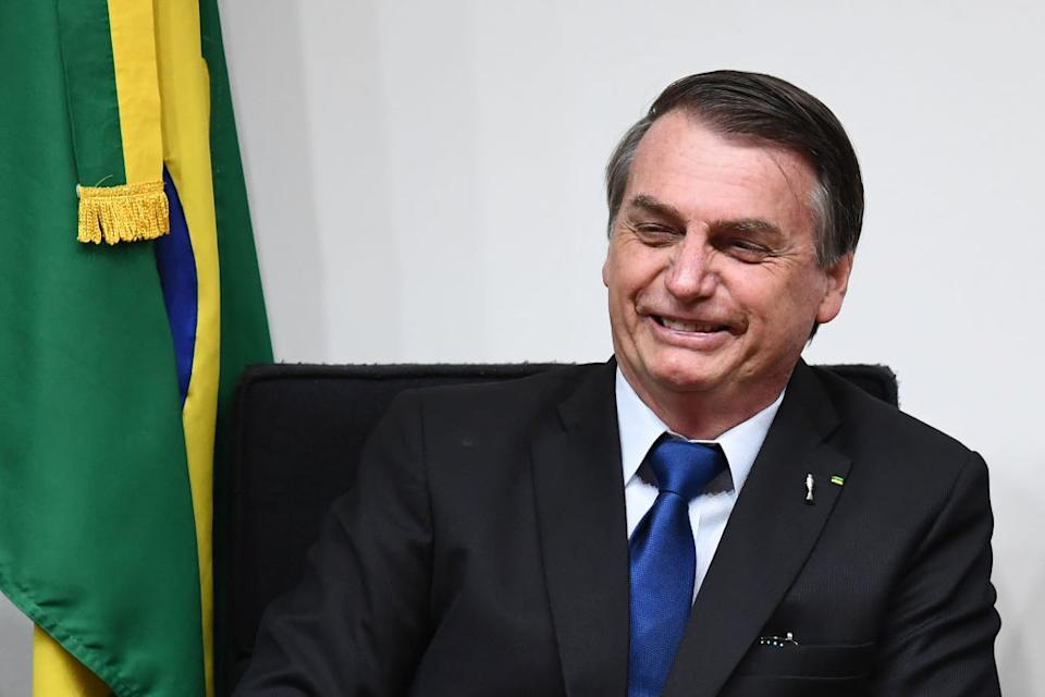 Brazilian president Jair Bolsonaro has been criticised for his environmental policies (Picture: AFP/Getty)