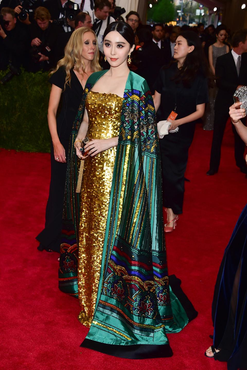 """<h1 class=""""title"""">Fan Bingbing in Christopher Bu, 2015</h1><cite class=""""credit"""">Photo: Getty Images</cite>"""