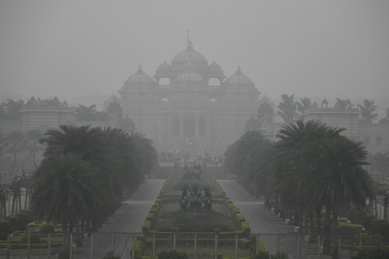 Concentrations of the most harmful airborne pollutants in Delhi are regularly about 20 times the World Health Organisation safe limit