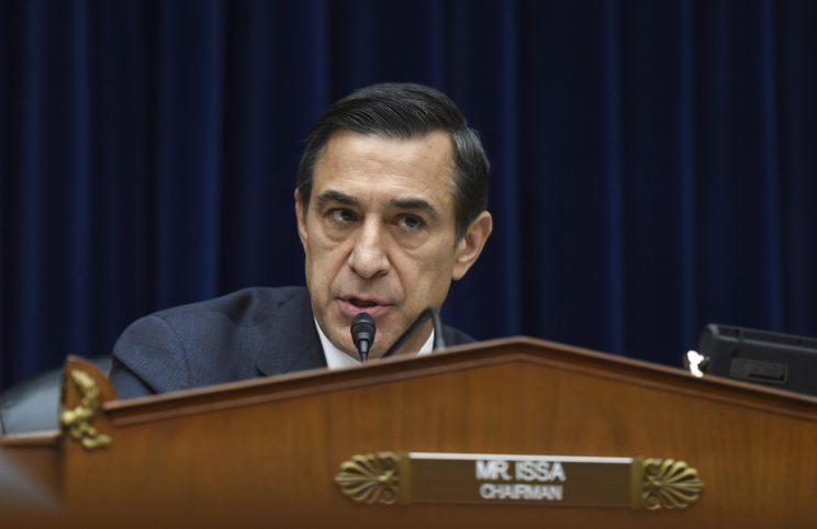 Rep. Darrell Issa, R-Calif. (Photo: Molly Riley/AP)