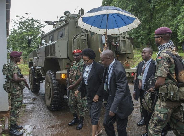 Ivy Kamanga, one of Malawi's five constitutional court judges, who were given an armoured military escort on February 3 when they made their historic ruling