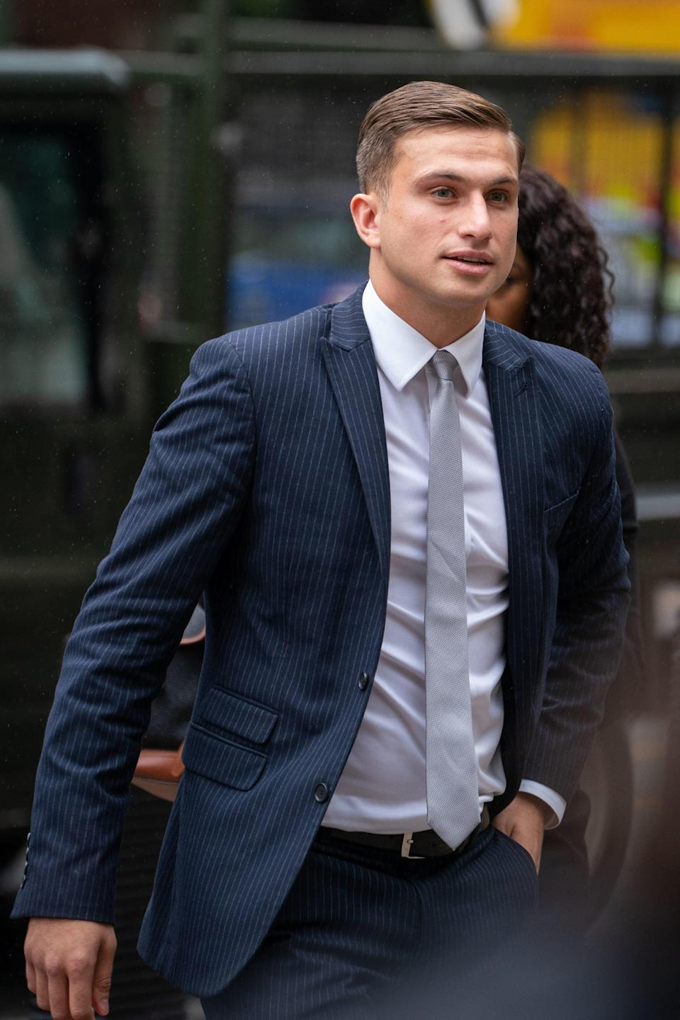 Lewis Hughes, 24, has admitted assaulting England's chief medical officer Professor Chris Whitty (Dominic Lipinski/PA) (PA Wire)