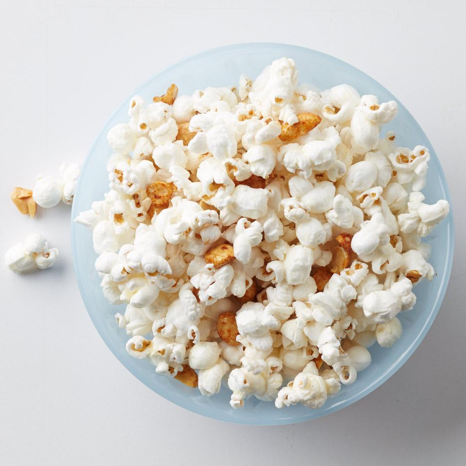 <p>This healthy snack recipe tosses together crunchy popcorn, salty peanuts and a touch of honey for the perfect sweet-salty snack to satisfy that afternoon, or evening, craving.</p>