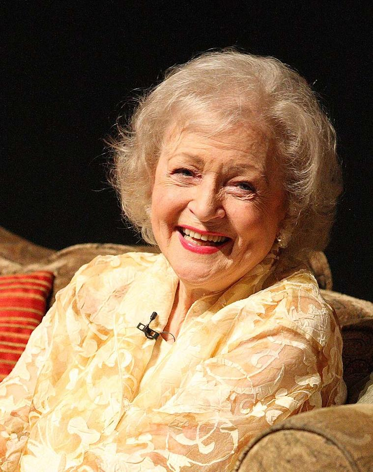 "Last week iconic actress Betty White was honored by the Academy of Television Arts and Sciences for her innumerable contributions to the industry. At 86, this Golden Girl has still got it goin' on! Mathew Imaging/<a href=""http://www.wireimage.com"" target=""new"">WireImage.com</a> - August 7, 2008"