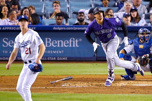 Dodgers' offense held in check, Rockies finally win in L.A.