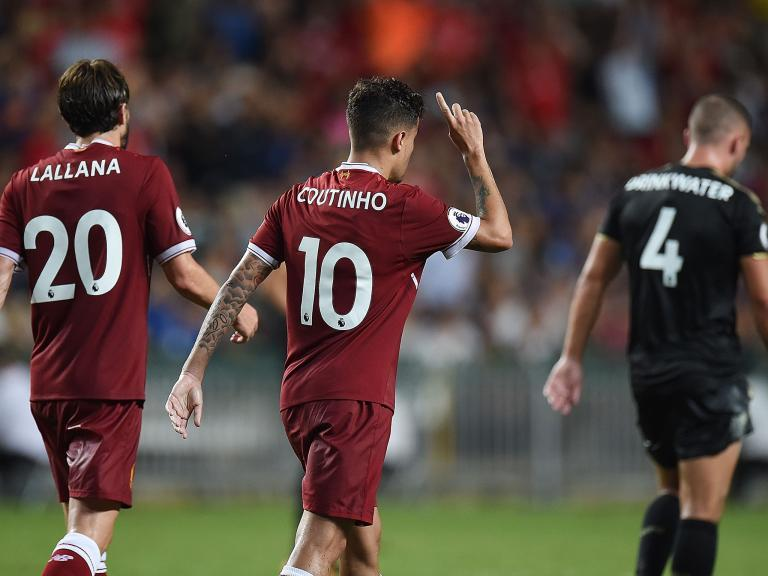 Philippe Coutinho 'comfortable' at Liverpool amid Barcelona interest, insists Jurgen Klopp