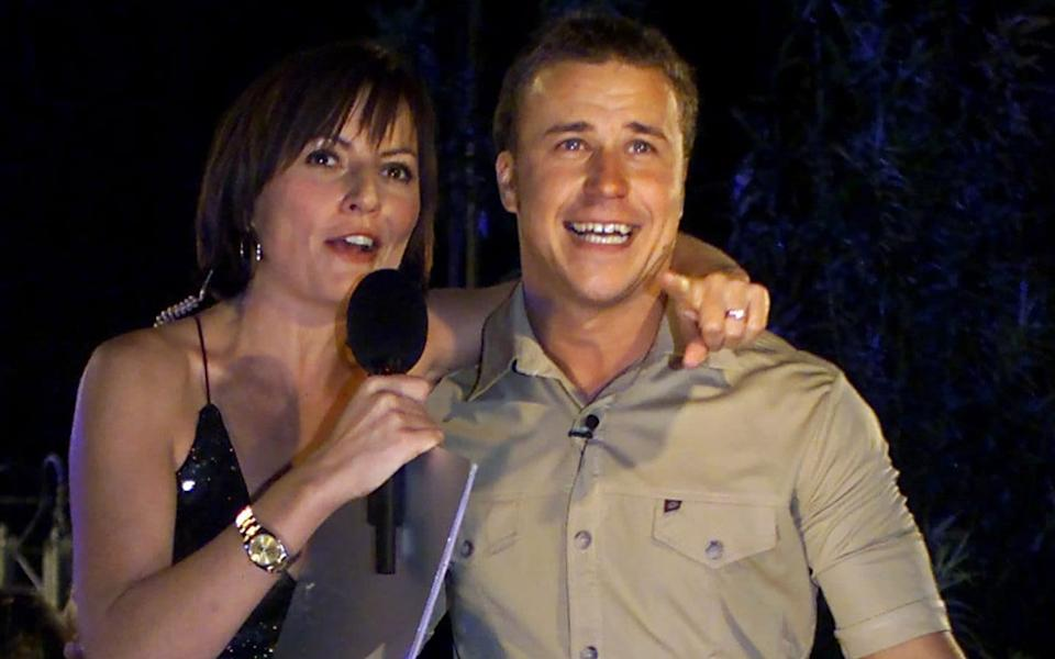 Davina McCall with Big Brother winner Craig Phillips - Reuters