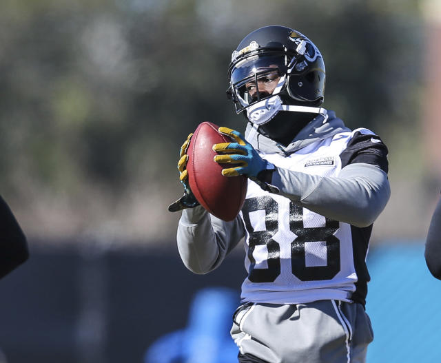 Former Jacksonville Jaguars wide receiver Allen Hurns has decided to sign with the Cowboys. (AP)