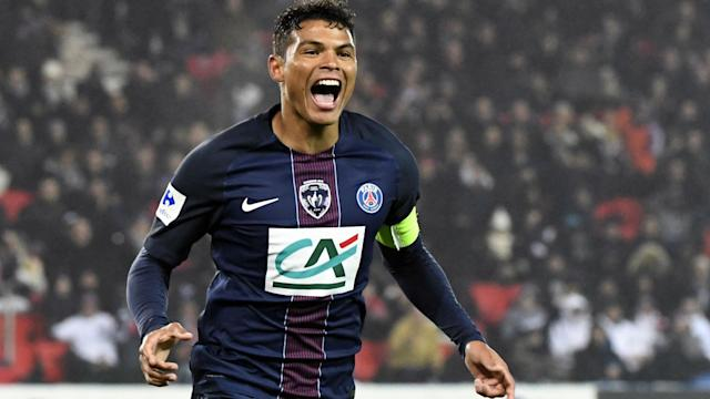 Thiago Silva Paris SG Bastia Coupe de France 07112017