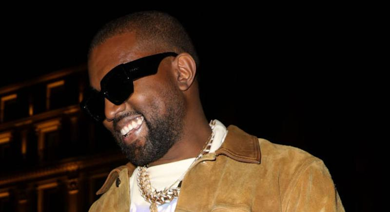 Kanye West's Yeezy slides debut tomorrow. (Getty Images)