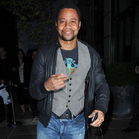 Cuba Gooding Jr. 'lets loose in New York'