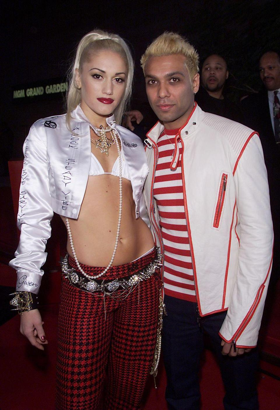 """<p>They say heartbreak drives brilliance and in Stefani's case, that's exactly what happened. After splitting from her No Doubt bandmate, Tony Kanal, in 1994, Stefani penned """"Don't Speak"""" and the band's popularity skyrocketed. Stefani and Kanal remained in the band together until it went on hiatus. </p>"""