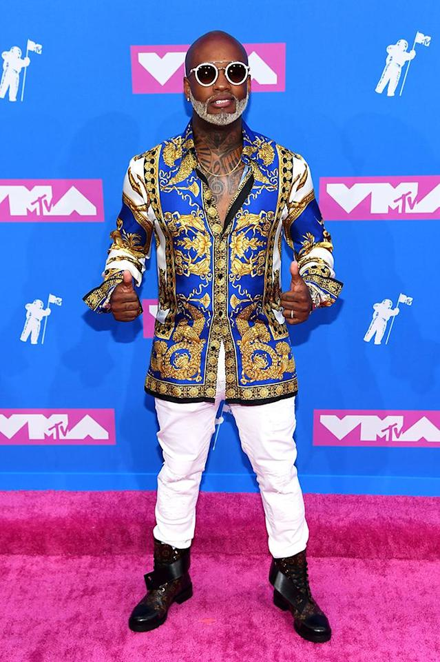 <p>Willy William attends the 2018 MTV Video Music Awards at Radio City Music Hall on August 20, 2018 in New York City. (Photo: Nicholas Hunt/Getty Images for MTV) </p>
