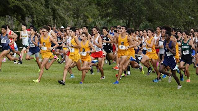 The Belen cross-country team captures its ninth consecutive Miami-Dade Youth Fair Meet