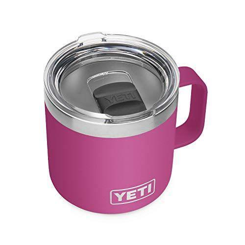 """<p><strong>YETI</strong></p><p>amazon.com</p><p><strong>$29.98</strong></p><p><a href=""""https://www.amazon.com/dp/B08RLQ98ST?tag=syn-yahoo-20&ascsubtag=%5Bartid%7C10050.g.36354512%5Bsrc%7Cyahoo-us"""" rel=""""nofollow noopener"""" target=""""_blank"""" data-ylk=""""slk:Shop Now"""" class=""""link rapid-noclick-resp"""">Shop Now</a></p><p>This 14-ounce mug will keep her coffee warm all morning. No more trips to the microwave to reheat! Choose from nine fun colors, including sea foam and king crab.</p>"""
