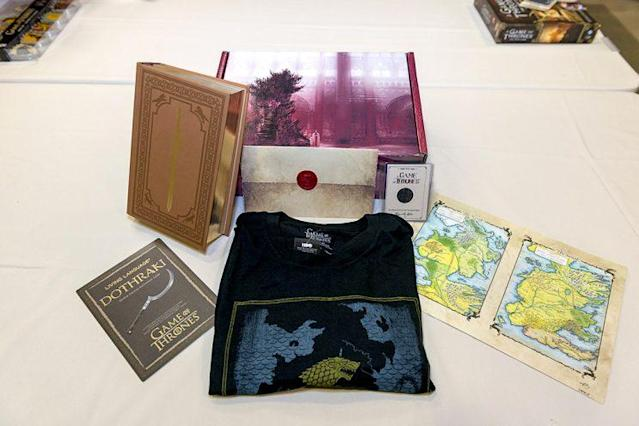 George R.R. Martin ReedPOP Special Edition Box. (Photo: ReedPOP)